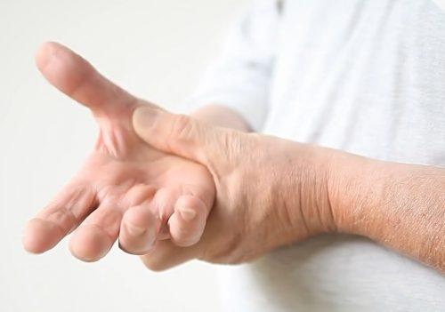 Slidgigt i hænderne